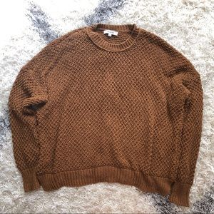 Madewell brown sweater